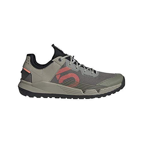 adidas 5.10 TRAILCROSS LT W, Zapatillas Deportivas para Mujer, Legacy Green/Signal Coral/Core Black