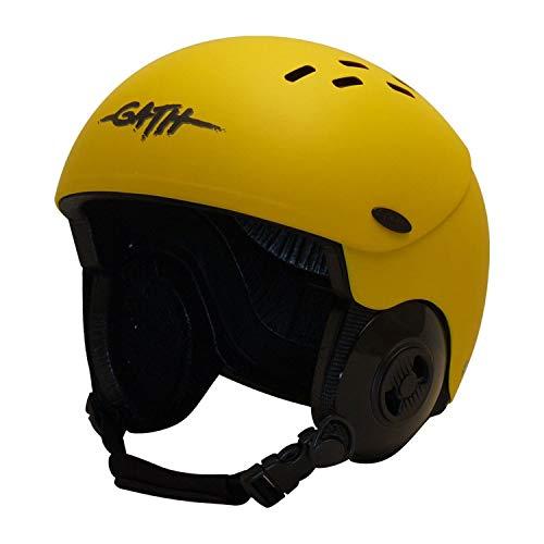 Gath Gedi Helmet with Peak - Yellow - S
