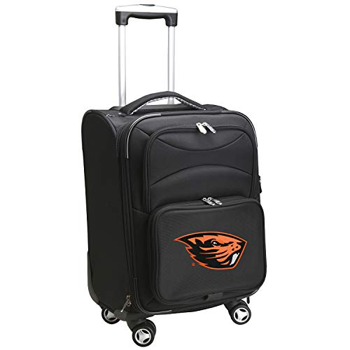 Denco NCAA Oregon State Beavers Carry-On Luggage Spinner