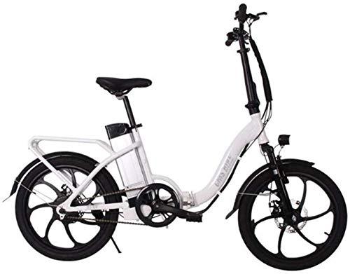 Bicicleta de montaña eléctrica, Bicicleta eléctrica plegable for adultos bicicleta eléctrica Velocidad máxima 32 kilometros / H con 36V 10ah extraíble de iones de litio 250W Motor Urban Commuter bicic