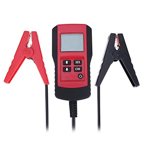 TERMALY Digitale autoaccutester voor de auto, digitale auto-accu-testapparaat, 12 V B