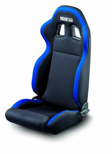 Sparco R100 Black/Blue Seat
