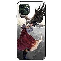 僕のヒーローアカデミアiPhoneケース,ジャパンアニメ轟焦凍 かっこいい強化ガラス防護保護カバーiphone11pro X 7 8 アニメファン