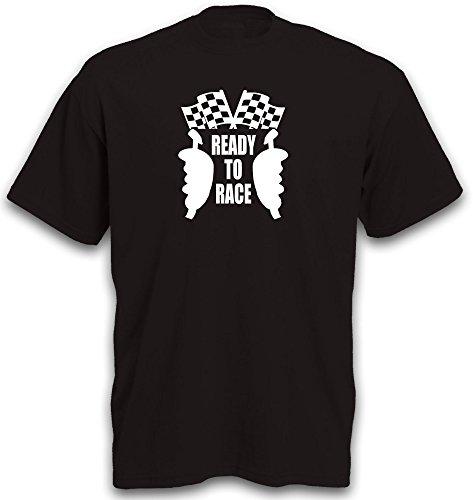 T-Shirt Slotcar Slotracing Motiv Carrerabahn Ready to Race Controller Funshirt Gr. XXL