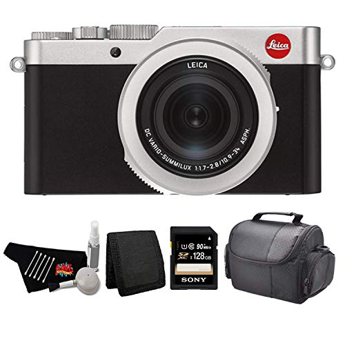 Leica D-Lux 7 Point and Shoot Digital Camera 19116 Kit with 128GB Memory Card + More