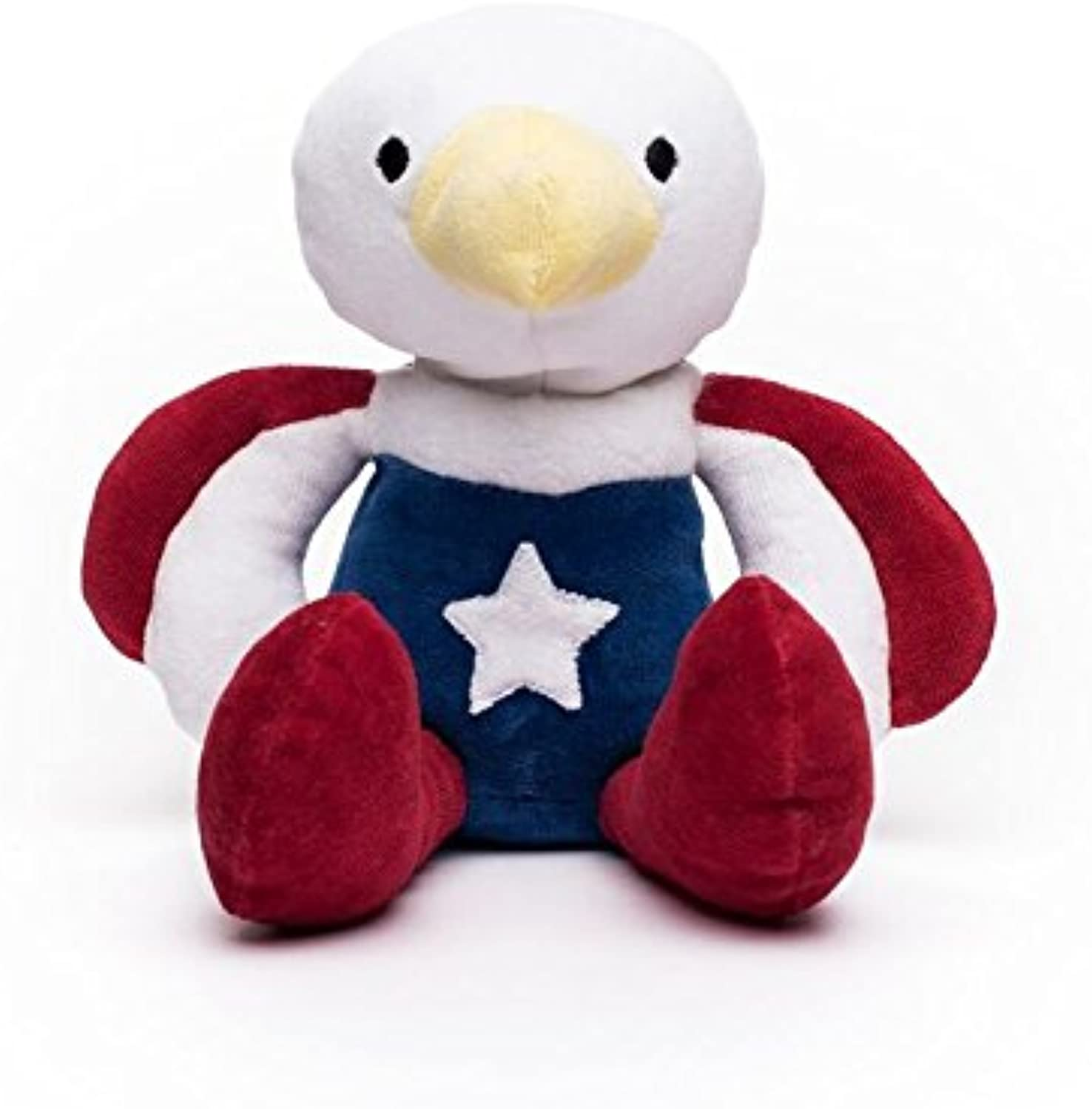 Bears For Humanity American Eagle Stuffed Animal - Organic Eagle is a Non-Toxic, Patriotic Plush 12  Toy