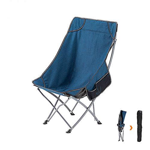 OCYE Sillas Plegables De Interior, Ajuste De Masaje De 3 Etapas, Silla De Camping Plegable para Almacenamiento Portátil, 57x37x97cm