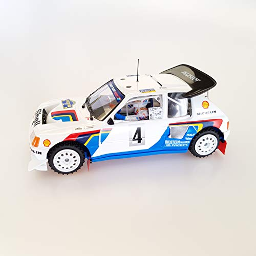 SRC- Peugeot 205 T16 EVO2 Kankkunen/Piironen Swedish Rally 86 Slot Car (03704)