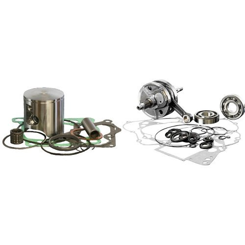 Wiseco PK1175 55.00 mm 2-Stroke Motorcycle Piston Kit with Top-End Gasket Kit