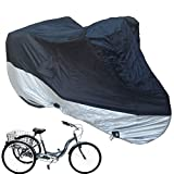 Premium Adult Tricycle Cover Heavy Duty Fabric Fits Schwinn, Westport and...