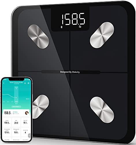 Etekcity Smart Scale for Body Weight, Digital Bathroom Weighing Scales...