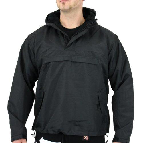 Commando stormfighter veste coupe-vent-noir-normale l (noir)