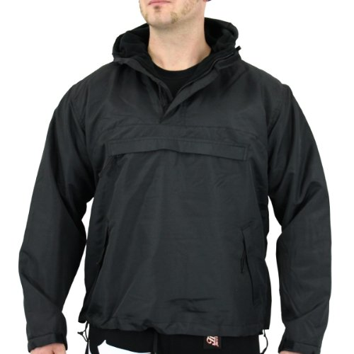 Commando Windbreaker Stormfighter Jacket black - fällt normal aus M,Black