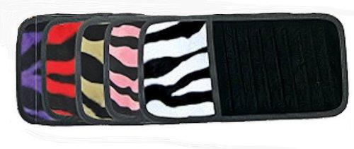 Zebra Cd Visor Holder/Purple