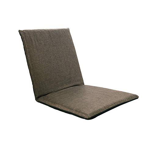 PIVFEDQX Sofá de salón con Respaldo Plegable, sofá Perezoso, balcón, sofá Plegable, Dormitorio Simple, sofá pequeño, Tatami con Respaldo, gris-78385cm