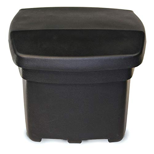 Buy Discount FCMP Outdoor SB140-BLK Outdoor Storage Bin, Black