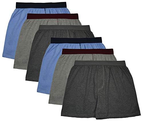 MioRalini 6 Boxershort Herren ohne Eingriff Artikel: Set11 Ohne Eingriff, Groesse: 2XL-8