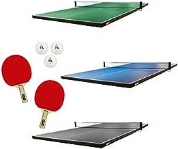 Martin Kilpatrick Ping Pong Table for Billiard Table | Conversion Table Tennis Game Table | Table Tennis Table with Ping Pong Paddle Set | Conversion Top for Pool Table Games | Ping Pong Table Top