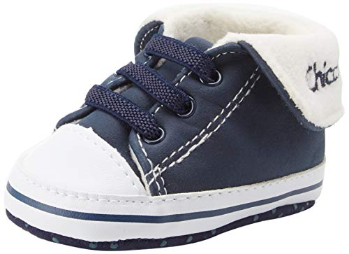 Chicco Polacchino Naval, Sneaker Bambino, Blu (Blu 810), 16 EU