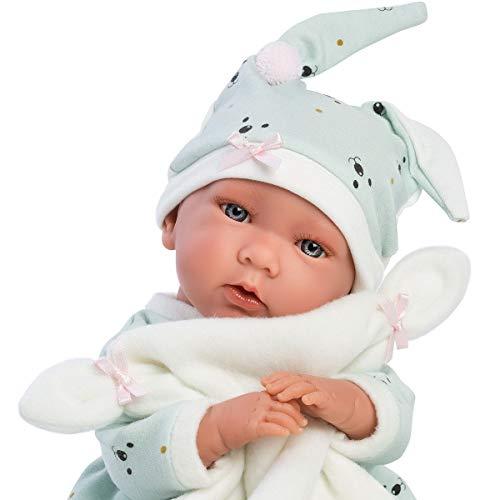 Llorens 74054 weinende Babypuppe Mimi, 42 cm, beige
