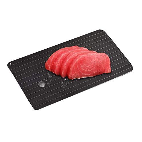 iitrust - Vassoio scongelamento rapido per scongelare carne o alimenti congelati in modo naturale, senza elettricità chimica