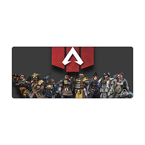 Tappetino Mouse Gaming Mouse Pad Grande Tappetino Mouse Apex Legends Gioco Tastiera Mat Mat Cafe XXX estesa Mousepad for Computer PC Mouse Pad (Color : 2, Size : 700 * 300 * 3mm)