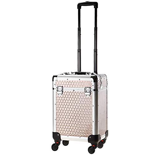 Boîte À Outils De Coiffure De Voyage Boîte De Rangement Nail Technician Trolley Case Cosmétiques Beauty Trolley Box,B