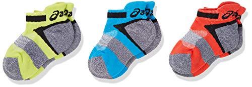 ASICS 3Ppk Lyte Youth Socks Calcetines, Multicolor (Multicolour 132098-0823), Talla única para Hombre