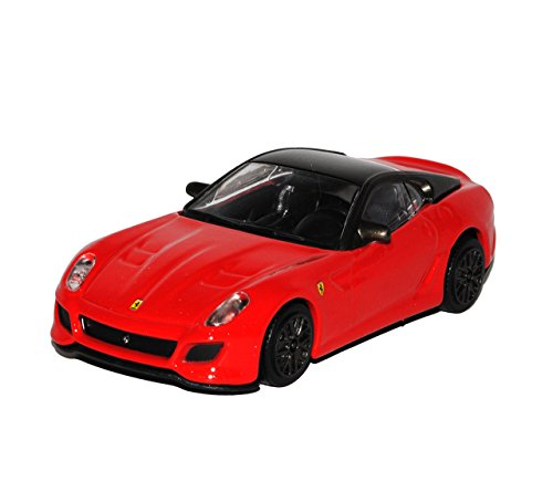 Bburago Ferrari 599 GTO Coupe Rot 2006-2013 1/43 Modelo Auto