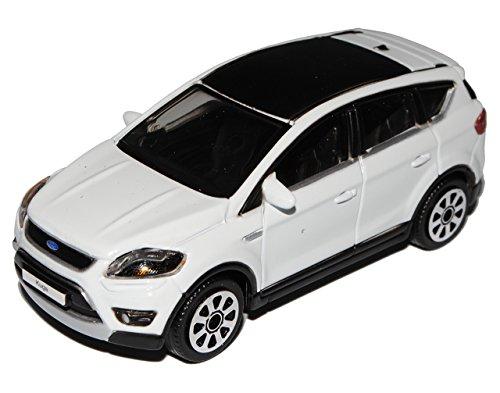 Bburago Ford Kuga Weiss SUV 1/43 Burago Modellauto Modell Auto