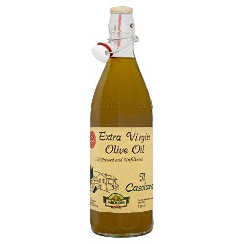 Farchioni Il Casolare Olivenöl Extra Virgin (1 l) - Packung mit 2