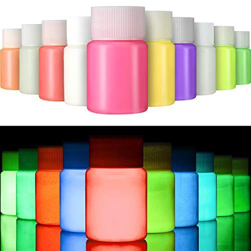 Gejoy 10 Piezas de Pintura UV para Tela