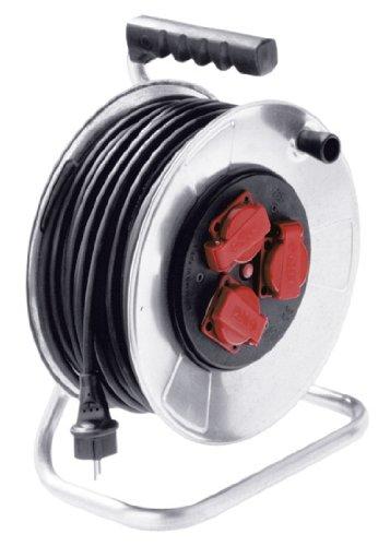 Bachmann 398.180 Enrouleur de câble Noir 40 m