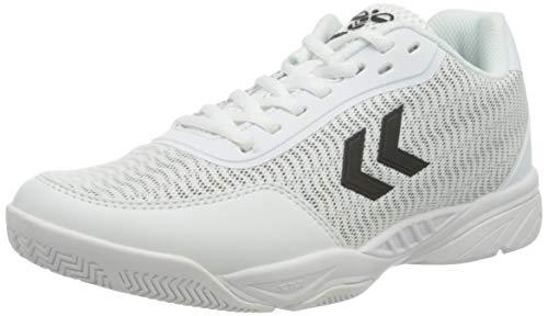 hummel Unisex Aero Team Sneaker, Weiß White, 36 EU