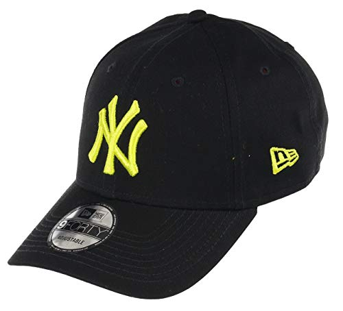 New Era 9forty Gorra Ajustable League Essential Hombres Mujeres Niños MLB Verano Yankees Dodgers Braves Béisbol con CS-Etiqueta