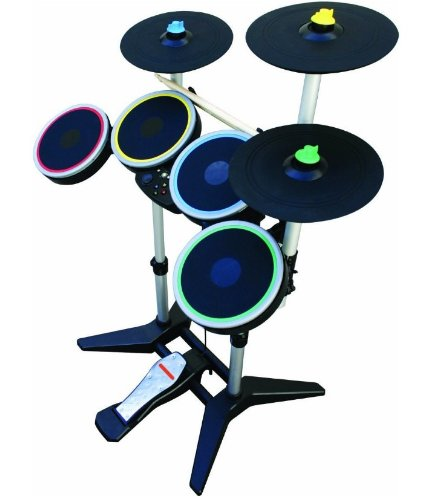 Rock Band 3 Wireless Pro-Drum and Pro-Cymbals Kit for Xbox 360