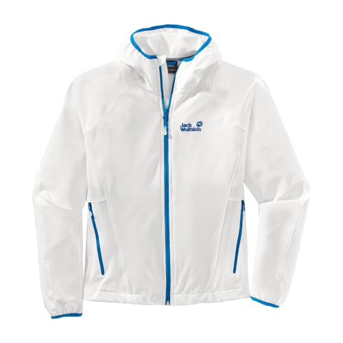 Jack Wolfskin Turbulence Jacket Women White Rush
