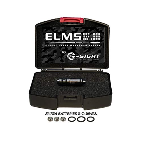 G-Sight 45 ELMS Dry Fire Cartridge Laser Training System | Free iPhone/Android App | Best in Class Accuracy & Compatibility | 100% Guarantee | Seen in Guns & Ammo, Recoil, Firearms News Magazines