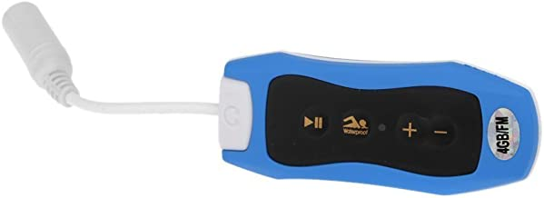 $21 » SWYWY 4GB IPX6 Sport Waterproof MP3 Player FM Radio for Swimming/Running Underwater Jogging/SPA+ Waterproof Earhook Headse...