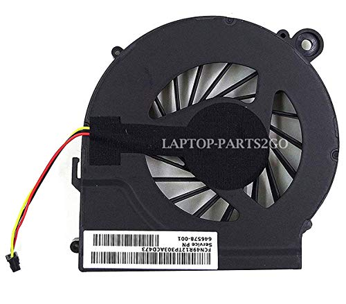 TB® Replacement Cooling FAN for HP Pavilion G4 G6 G7 G42 G56 CQ42 CQ62 CQ56 CQ56z Presario CQ62z G62t Q72C Series Laptop Fan Part # 646578-001 Comes with One Year Warranty