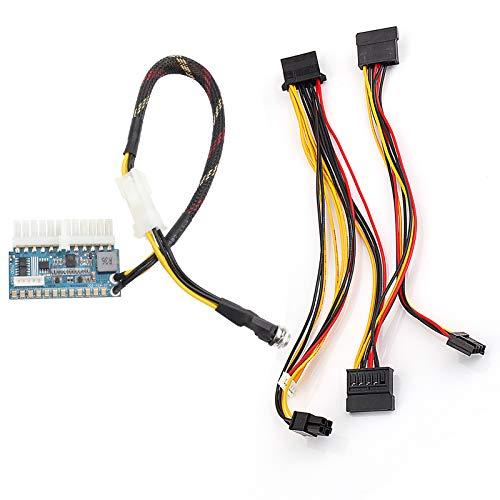 DC 12V 200W Pico-Box Hochleistungs Inline DC ATX Switch Netzteil versorgen Mini ITX 24PIN