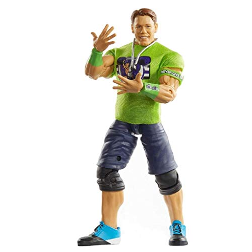 CQ WWE Juguetes de 6 Pulgadas Escala colector Elite Serie John Cena Atcion Figura Regalos for WWE Superstars clásicos Aficionados Toys