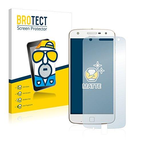 BROTECT 2X Entspiegelungs-Schutzfolie kompatibel mit Lenovo Moto Z Play Bildschirmschutz-Folie Matt, Anti-Reflex, Anti-Fingerprint