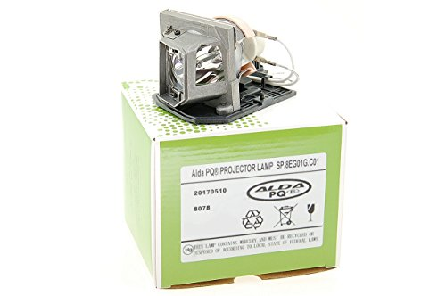 Alda PQ-Premium, Lámpara de proyector para OPTOMA HD23 Proyectores, lámpara con Carcasa
