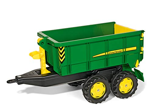 Fantastic Prices! ROLLY TOYS John Deere Container Trailer