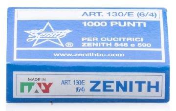 Zenith 130/e 5/81,3cm Light Wire Staple (per 548/e graffette) 20scatole di 1,000
