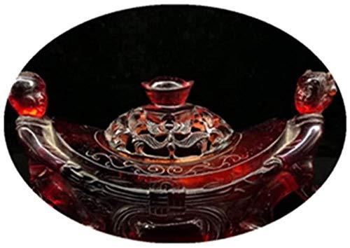 ZHIFENGLIU Statue en cuivre Antique Divers encensoir d'ambre Antique Sang Po encensoir décoration décoration de la Maison