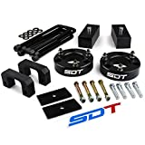 Fits 2007-2020 Chevy Silverado 1500 and GMC Sierra 1500 3.5' Front + 3' Rear Lift Kit 2WD 4WD -Street Dirt Track- Full Suspension Lift Kit with Axle Shims