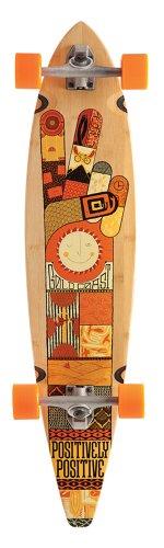 Goldcoast Origin Completo Longboard - Brown, One Size
