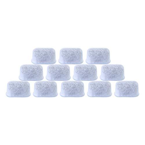 Ersatz-Aktivkohle-Wasserfilter für Kaffeemaschinen, Vlies, 12er-Pack